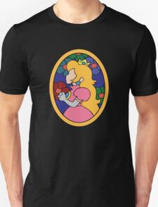 Princess Peach Stained Glass Unisex T-Shirt