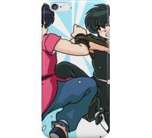 Ranma vs Ryoga iPhone Case/Skin