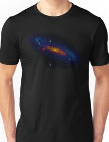 Meanwhile, somewhere in the Universe... Unisex T-Shirt