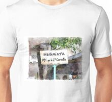 Bus stop cartel Unisex T-Shirt