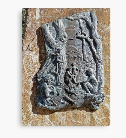 Steppes Sculpture Canvas Print