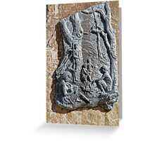 Steppes Sculpture Greeting Card