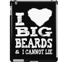 I Love Big Beards iPad Case/Skin