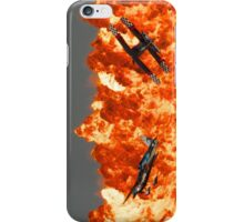 Wall of Fire iPhone Case/Skin
