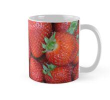 Fresh red strawberries Mug