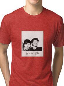Dan and Phil Polaroid Tri-blend T-Shirt