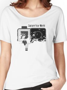 GoPro - Capture Your World - Merchandise 2016 Women's Relaxed Fit T-Shirt