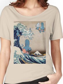 Mudkip Wave Women's Relaxed Fit T-Shirt