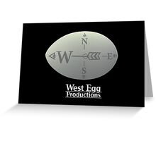 West Egg Productions Logo Greeting Card