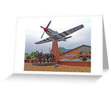 Memorial to the Fallen, Branson, Missouri, USA Greeting Card
