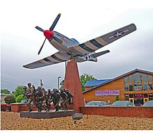 Memorial to the Fallen, Branson, Missouri, USA Photographic Print