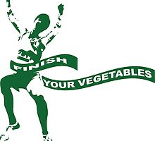 Finish Your Vegetables by Kipper Doodles