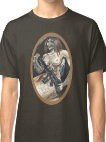 Mermaid with Rifle Classic T-Shirt