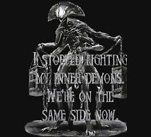 Demonic, abomination, quote about inner demons Unisex T-Shirt