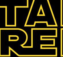 Star Trek - Star Wars Sticker