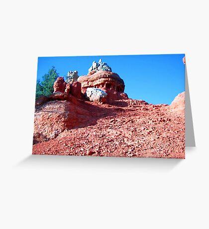 Red Rock Canyon Hoodoo, Utah, May 2008 Greeting Card