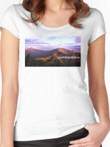 Capricornia Skies Women's Fitted Scoop T-Shirt