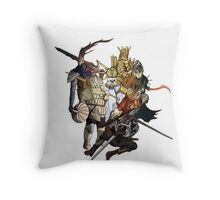 Brave Undead (No Text) Throw Pillow