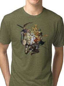 Brave Undead (No Text) Tri-blend T-Shirt