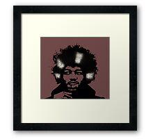 Jimmy Vinyltrix Framed Print