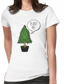 PLANT ME! Womens Fitted T-Shirt