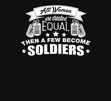 For Women Soldiers Womens Fitted T-Shirt