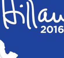 Hillary 2016 State Pride Signature - Illinois Sticker