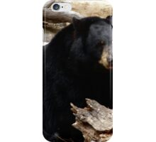 """Black Bear"" by Carter L. Shepard""  iPhone Case/Skin"