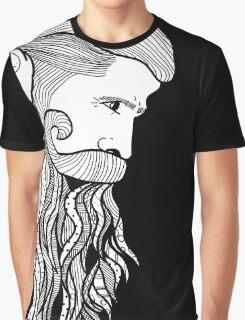 sexy beard black Graphic T-Shirt