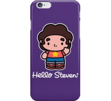 Hello Steven iPhone Case/Skin