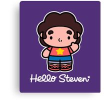 Hello Steven Canvas Print