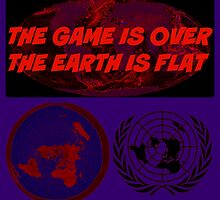 GAME OVER THE EARTH IS FLAT by DMEIERS
