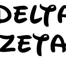Delta Zeta - Disney by taliafaigen