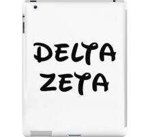 Delta Zeta - Disney iPad Case/Skin