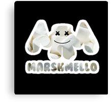 Marshmellow design with stroke Canvas Print