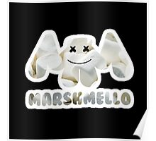 Marshmellow design with stroke Poster