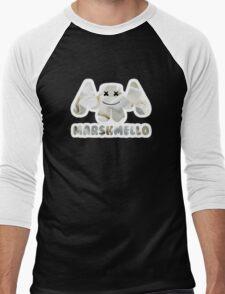 Marshmellow design with stroke Men's Baseball ¾ T-Shirt