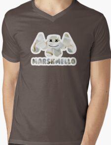 Marshmellow design with stroke Mens V-Neck T-Shirt