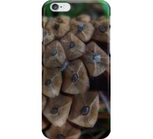 The lone pine cone iPhone Case/Skin
