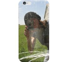 Selfie with Barbed Wire iPhone Case/Skin