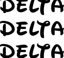 Delta Delta Delta - Disney by taliafaigen