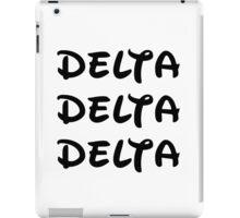 Delta Delta Delta - Disney iPad Case/Skin