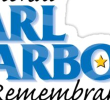 Pearl Harbor Remembrance Day Logo Sticker