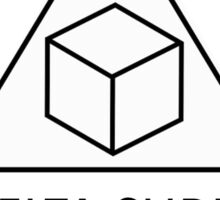 Community - Delta Cubes Sticker