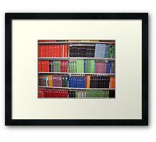 Academic Rainbow Framed Print