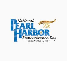 Pearl Harbor Remembrance Day 75th Anniversary Logo T-Shirt