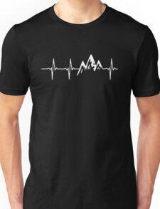 MOUNTAIN IN MY HEARTBEAT Unisex T-Shirt
