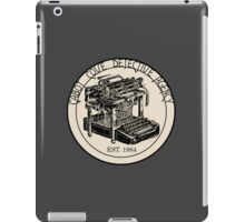 Cabot Cove Detective Agency iPad Case/Skin