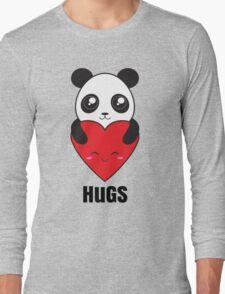 Panda Hugs Long Sleeve T-Shirt