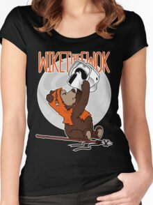 Wiket the Ewok! Women's Fitted Scoop T-Shirt